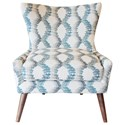 Jonathan Louis Accentuates Contemporary Mike Accent Chair - Item Number: 02257-Rain