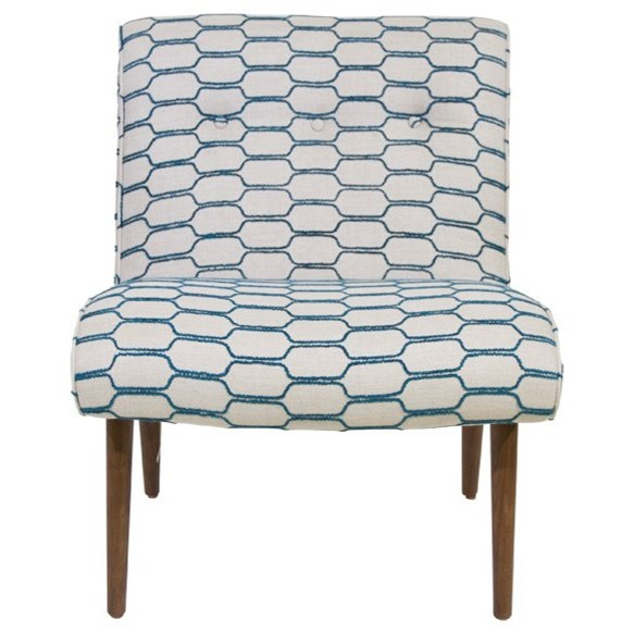 Accentuates Forbes Armless Accent Chair by Jonathan Louis at Michael Alan Furniture & Design