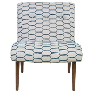 Cisco Accentuates Forbes Armless Accent Chair
