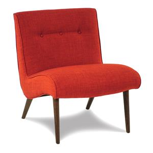 Cisco Accentuates Fiesta Armless Accent Chair