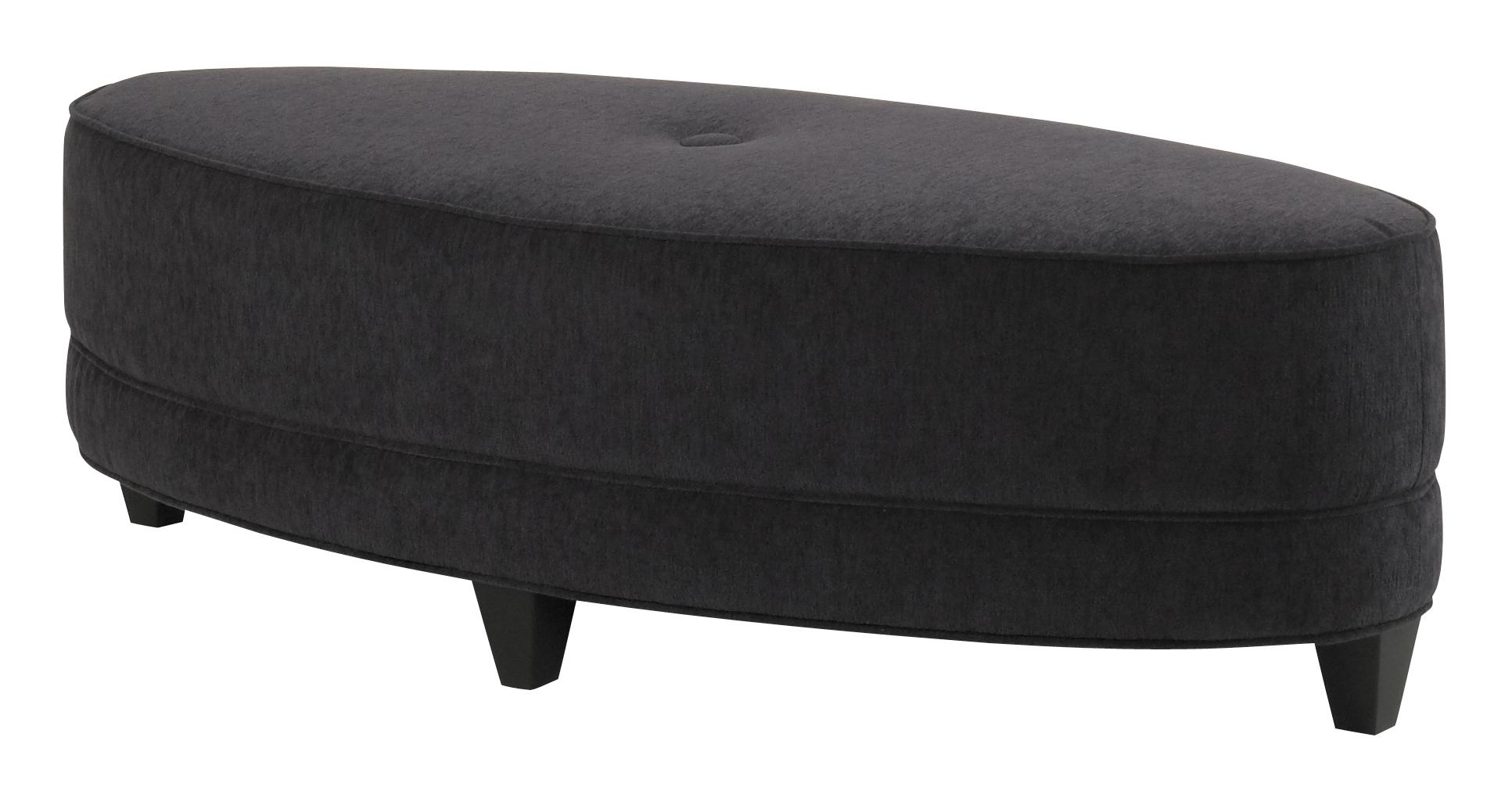 Accentuates Glendora Oval Ottoman by Jonathan Louis at Michael Alan Furniture & Design