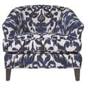Jonathan Louis Accentuates Glendora Chair - Item Number: 14457-Sabira Cobalt