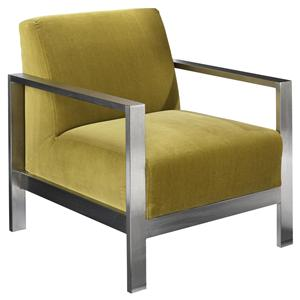 Jonathan Louis Accentuates Morrissey Metal Accent Chair