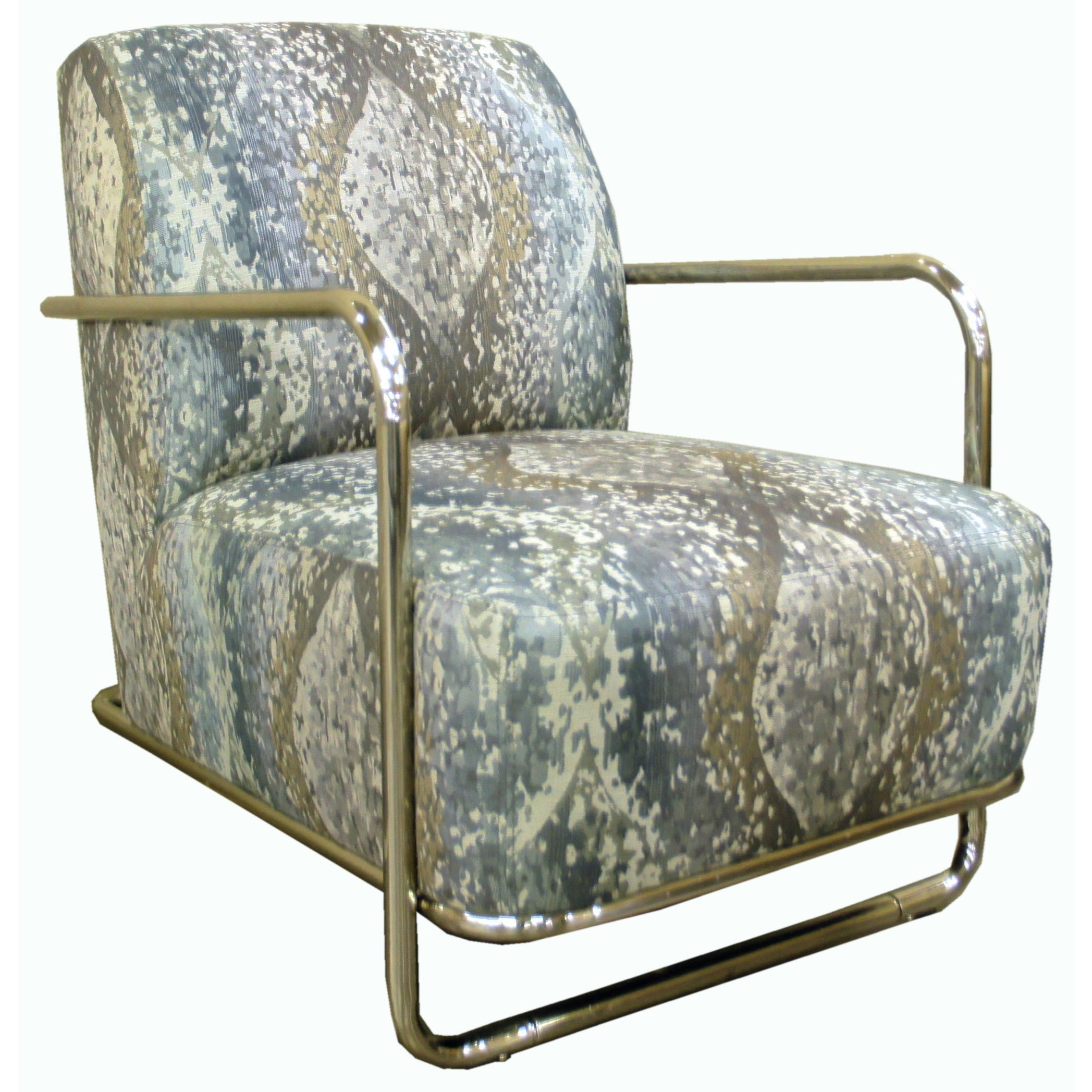 Jonathan Louis Accentuates Brushed Nickel Accent Chair - Item Number: 30657-Nextiri Sealion