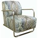 Cisco Accentuates Brushed Nickel Accent Chair - Item Number: 30657-Nextiri Sealion