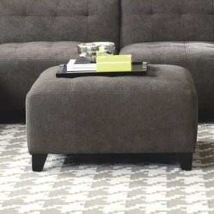 Belaire Contemporary Ottoman by Jonathan Louis at Stoney Creek Furniture