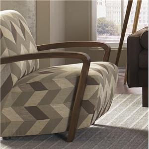 Jonathan Louis Bennett Bennett Wood Accent Chair