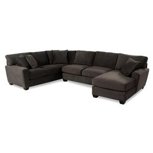 Cisco Dolan  L-Shape Sectional with Chaise