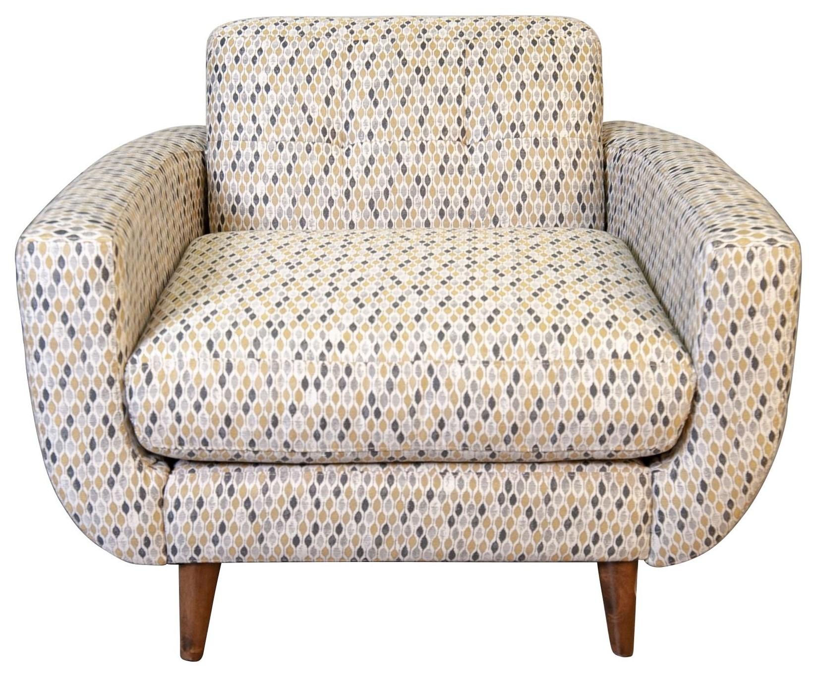 Bianca Bianca Arm Chair by Jonathan Louis at Morris Home