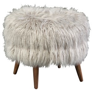 Captivating Mid Century Modern. Select. Compare. Jonathan Louis Bibi Round Accent  Footstool