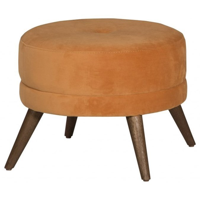 Round Accent Footstool