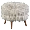 Jonathan Louis Bibi Round Accent Footstool - Item Number: 15672