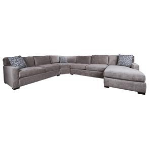 Morris Home Furnishings Blythe Blythe 4-Piece Sectional