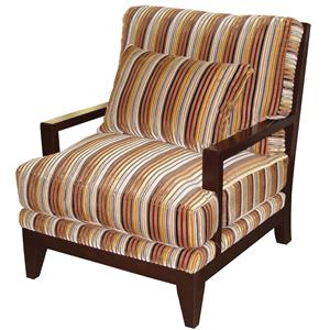 Jonathan Louis Bono Wood Accent Chair