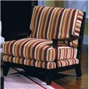 Jonathan Louis Bono Contemporary Wood Accent Chair - Shown in Room Setting
