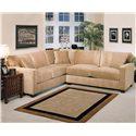 Jonathan Louis Bradford 2-Piece Stationary Sectional - Item Number: 176632L+626R