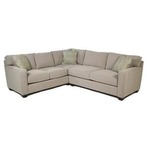 2-Piece Stationary Sectional