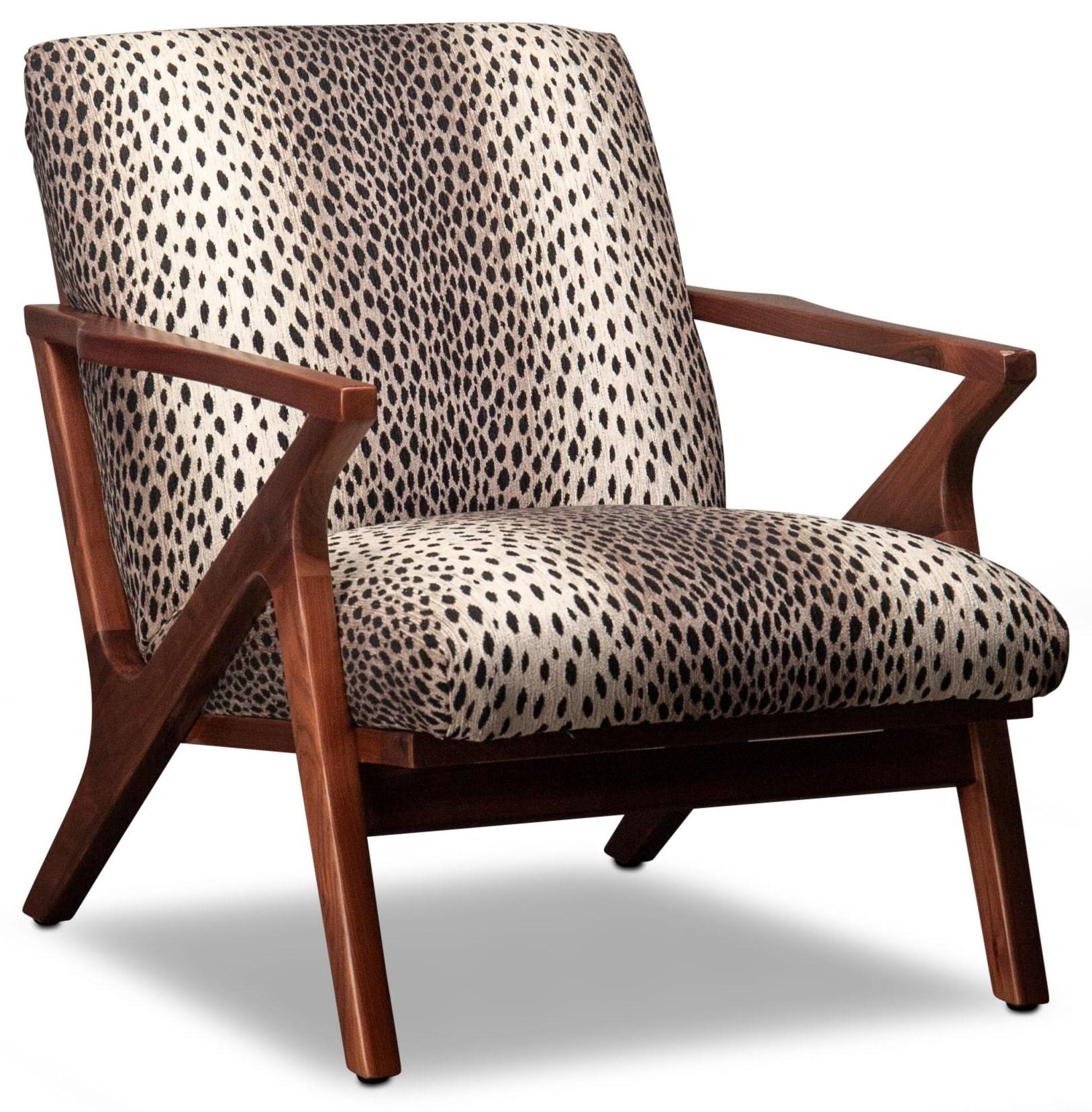 Brielle Brielle Wood Accent Chair by Jonathan Louis at Morris Home