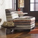 Jonathan Louis Burton  Armless Chair - Item Number: 370-57-Multicolored Pattern