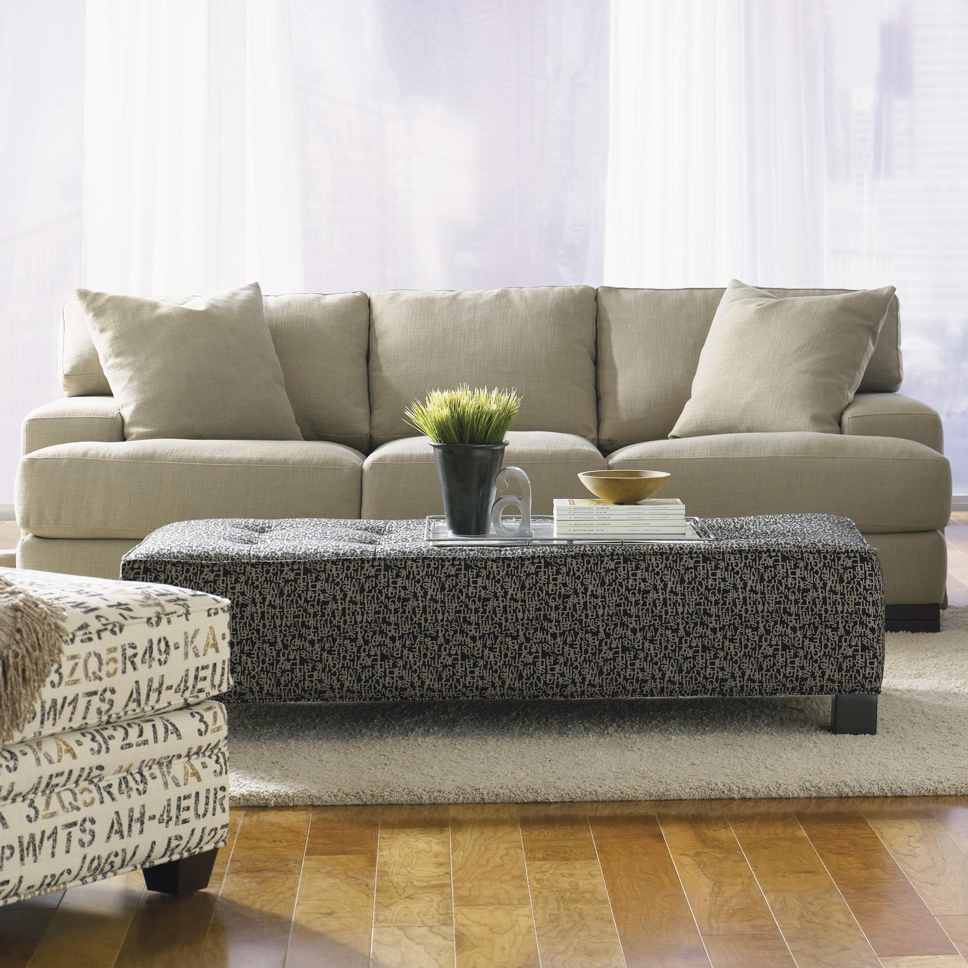 Jonathan Louis Burton Modern Sofa With Low Track Arms And