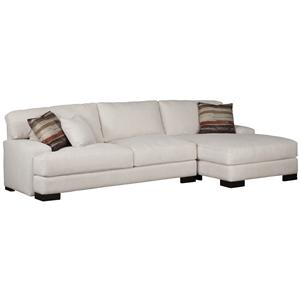 Incroyable Jonathan Louis Burton Modern Sectional With Right Chaise | Olindeu0027s  Furniture | Sectional Sofas