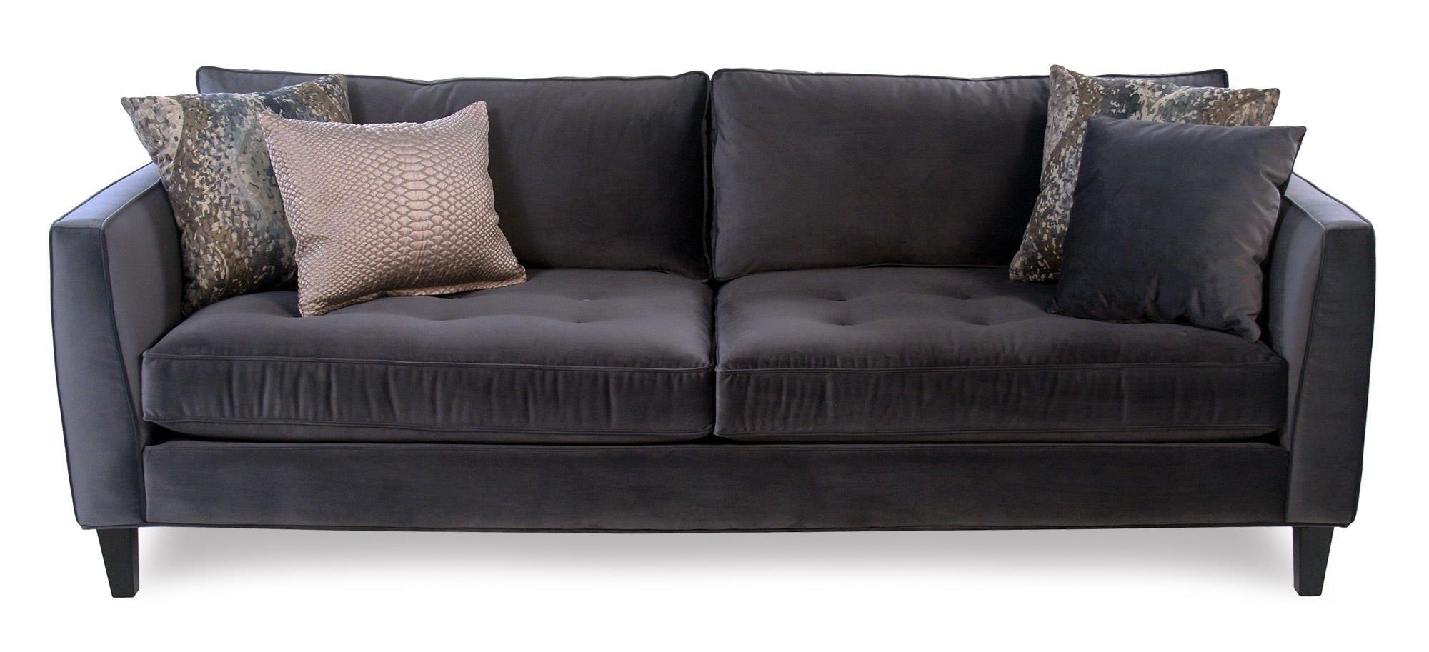 Cisco Mercury Modern Estate Sofa - Item Number: 01070-STEEL