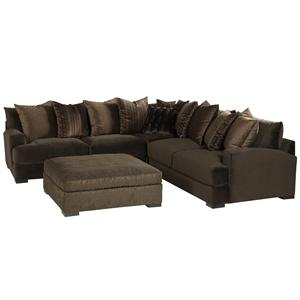 Jonathan Louis Carlin Stationary Sofa Sectional