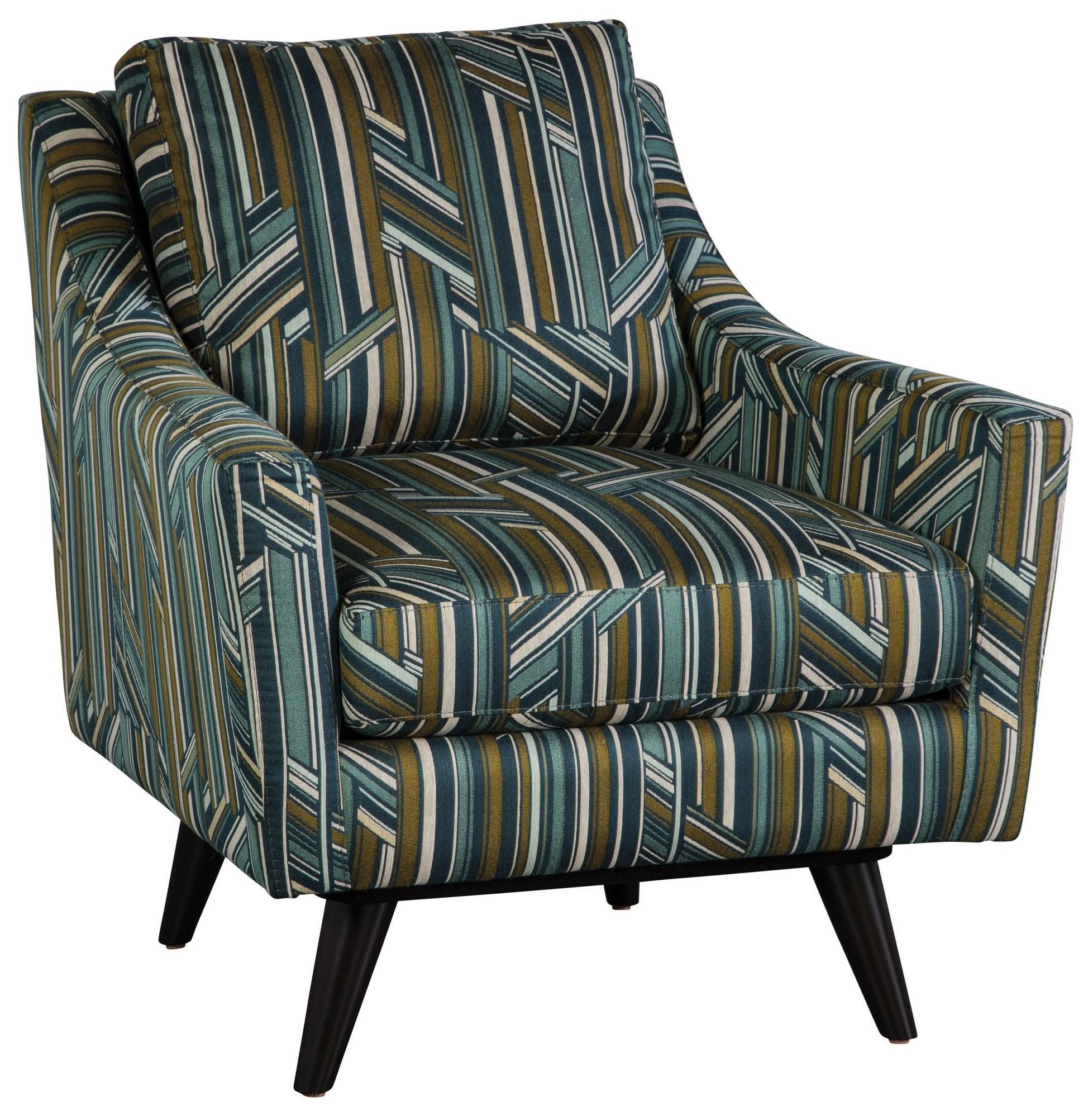 Jonathan Louis Carrie Mid Century Modern Accent Swivel Chair With Splayed Legs Fashion Furniture Upholstered Chairs