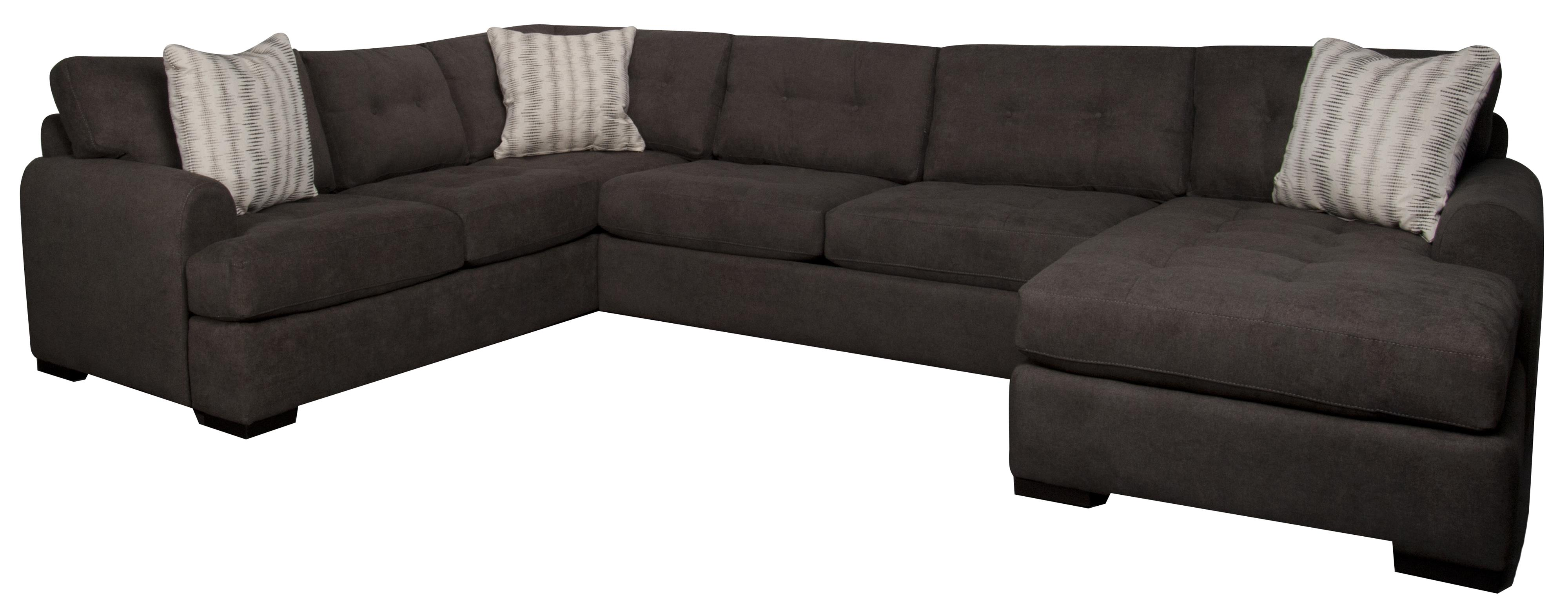 Santa Monica Carson Carson 3-Piece Sectional - Item Number: 134805897