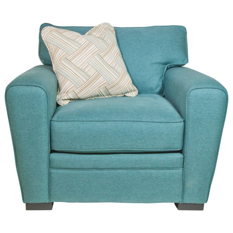 Jonathan Louis Choices - Artemis Chair - Item Number: 413-01-Bella Caribbean