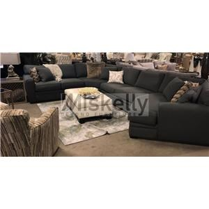 Jonathan Louis Choices - Artemis 4 PC Sectional  sc 1 st  Miskelly Furniture : jonathan louis burton sectional - Sectionals, Sofas & Couches