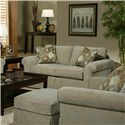 Jonathan Louis Choices - Athena Upholstered Loveseat - Item Number: 406-20