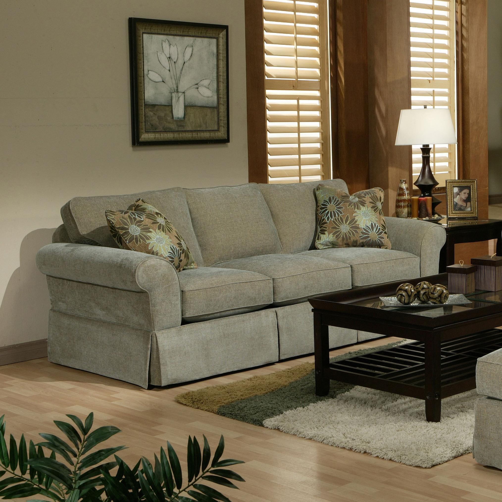 Good Jonathan Louis Choices   Athena Stationary Sofa   Item Number: 406 30