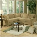 Jonathan Louis Choices - Juno Sectional Sofa - Item Number: 412-32L+25R