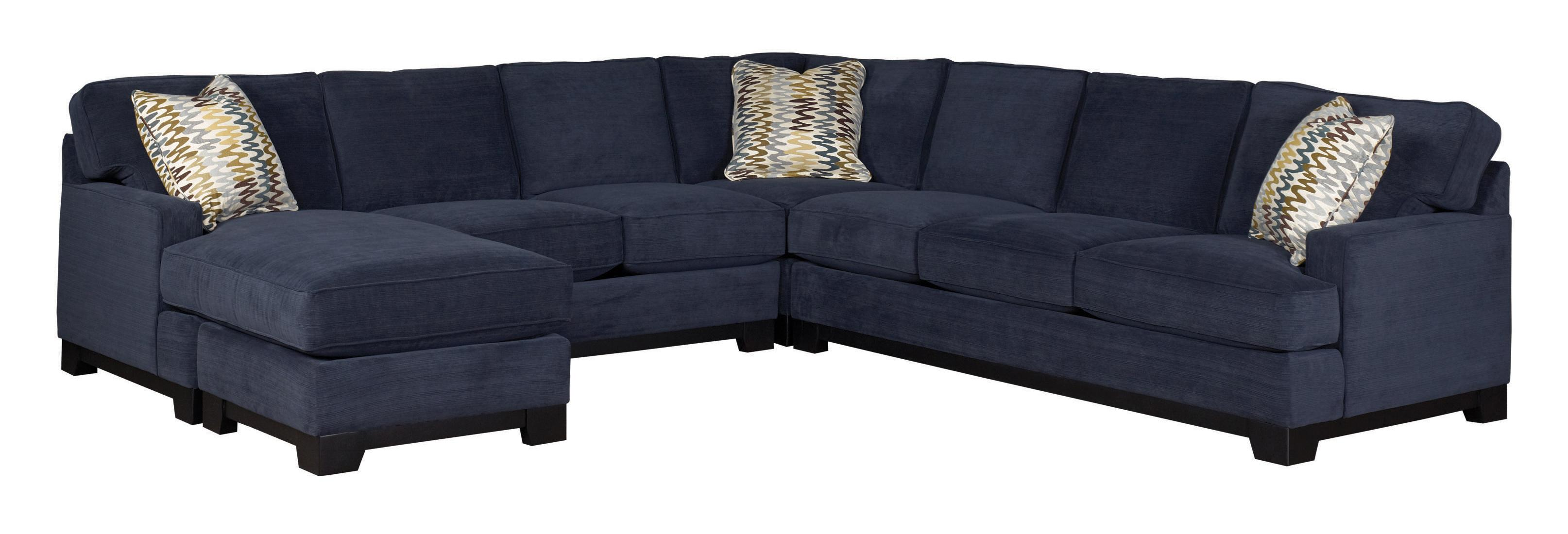 Jonathan louis choices kronos contemporary 4 piece for 4 piece sectional sofa with chaise