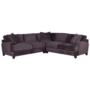 Jonathan Louis Clarence 4 pc. Sectional
