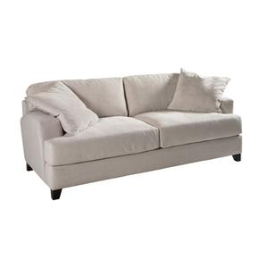 Jonathan Louis Clarence Casual Contemporary Stationary Sofa Olinde S Furniture Sofas