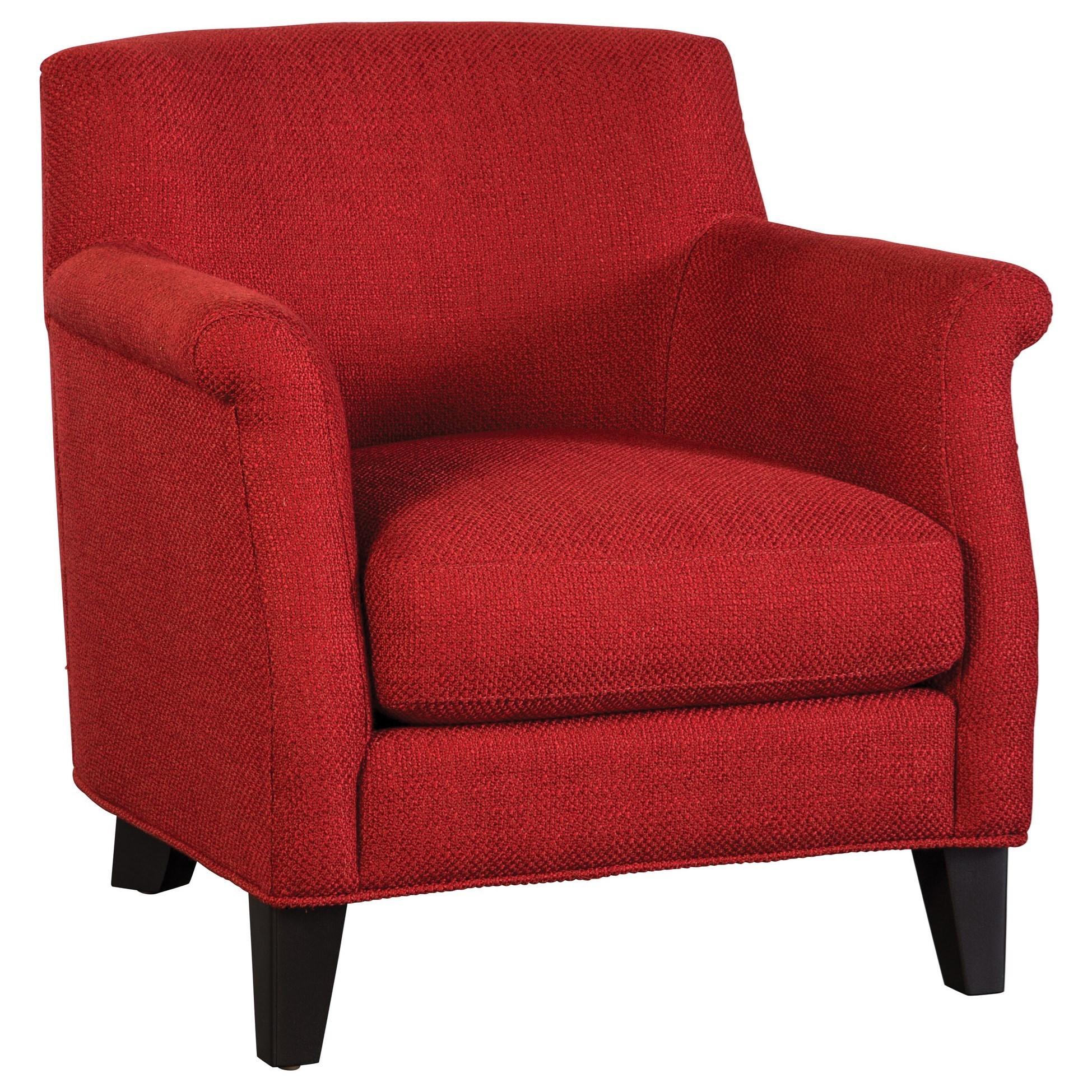 Jonathan Louis Cobi Accent Chair - Item Number: 04157-Bennett Red