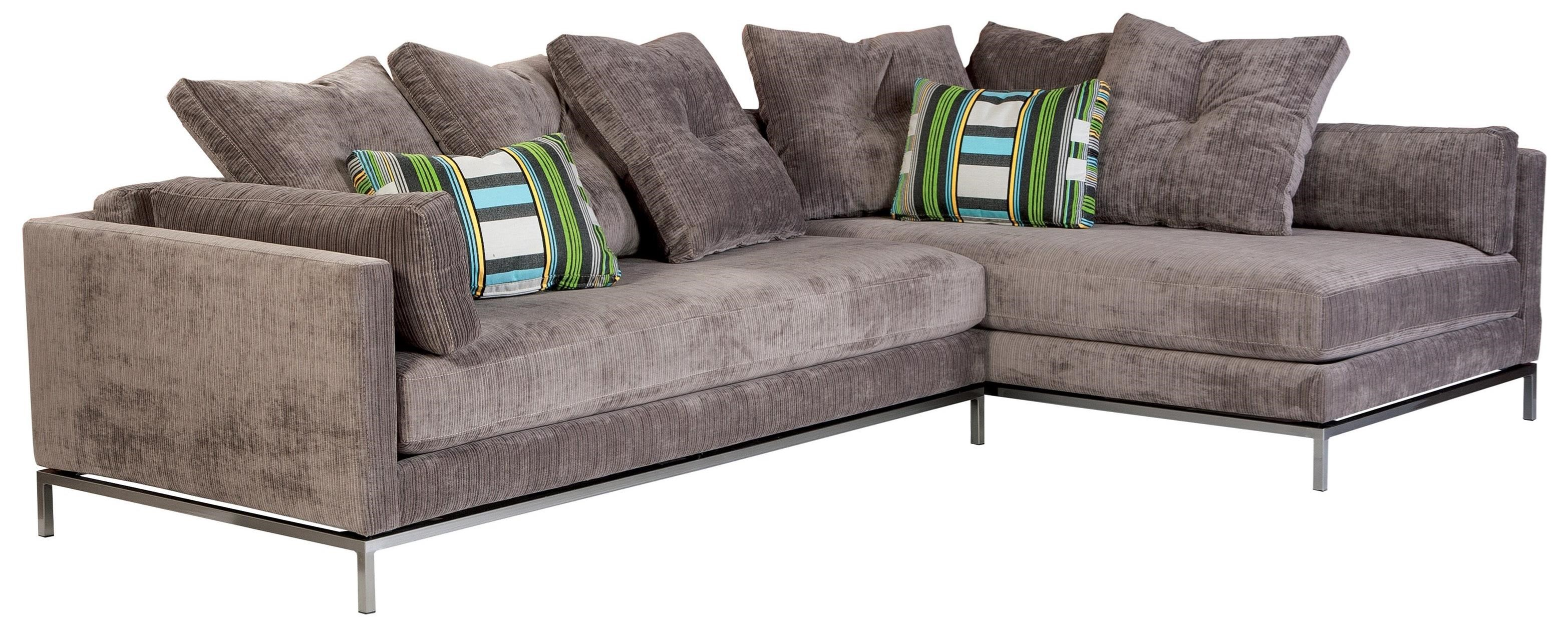 Jonathan Louis Cordoba Sectional Sofa   Item Number: 2x155 35L Brussels Sky  Grey