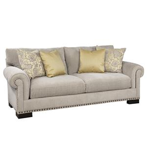 Gentil Jonathan Louis Crawford Stationary Sofa
