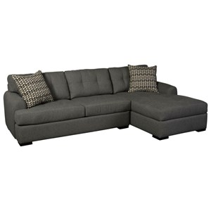 3-Seat Chaise Sectional with RAF Chaise