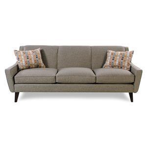 Jonathan Louis Vibe Mid-Century Modern Sofa