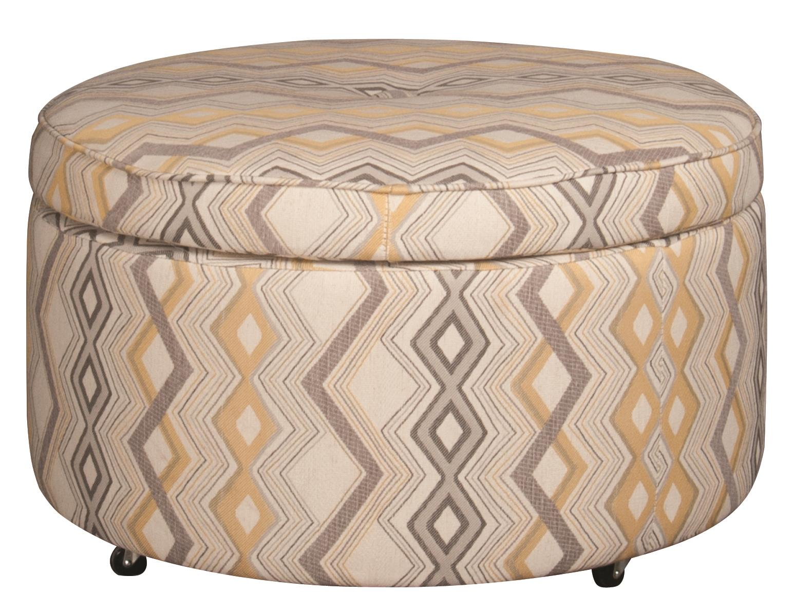 Santa Monica Eden Eden Castered Ottoman - Item Number: 116196451
