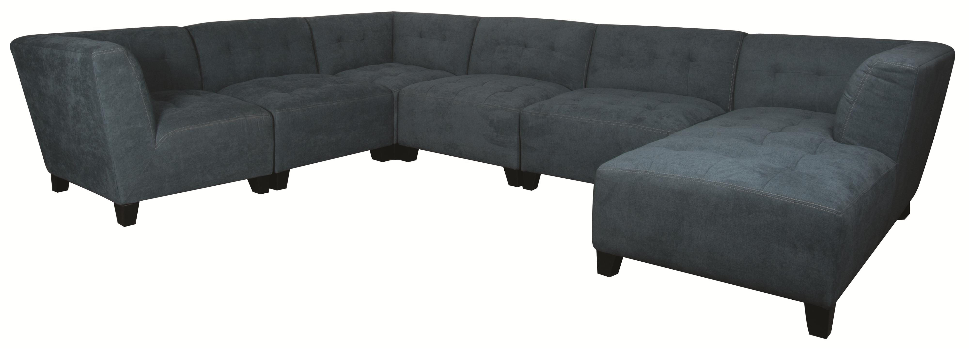 Morris Home Furnishings Emerson Emerson 6-Piece Sectional - Item Number: 148817820