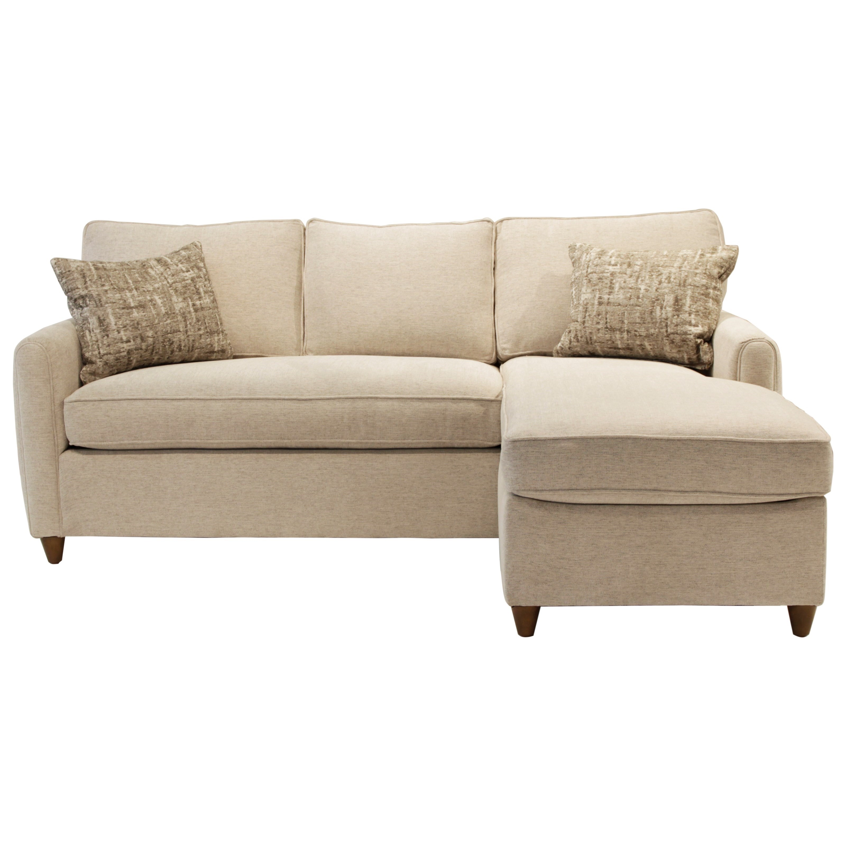 Jonathan Louis Emory Sofa with Chaise - Item Number: 036-90A+S-Merit Dove