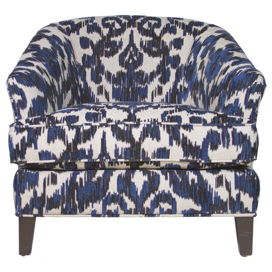 Jonathan Louis Glendora Accent Chair - Item Number: 14457-Cobalt
