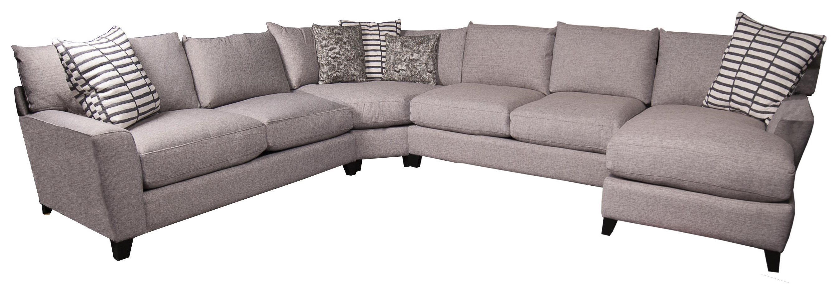 Harlow Harlow Sectional Sofa by Jonathan Louis at Morris Home