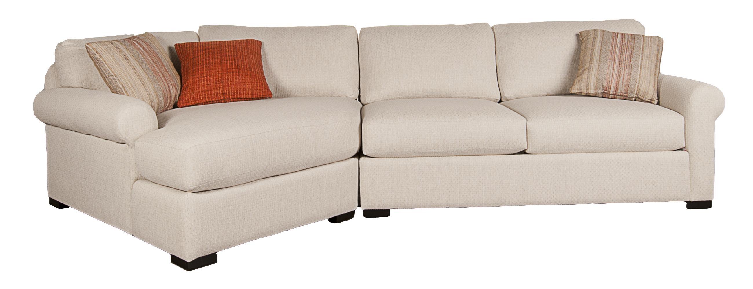 Morris Home Furnishings Herah Herah 2-Piece Sectional - Item Number: 117829206