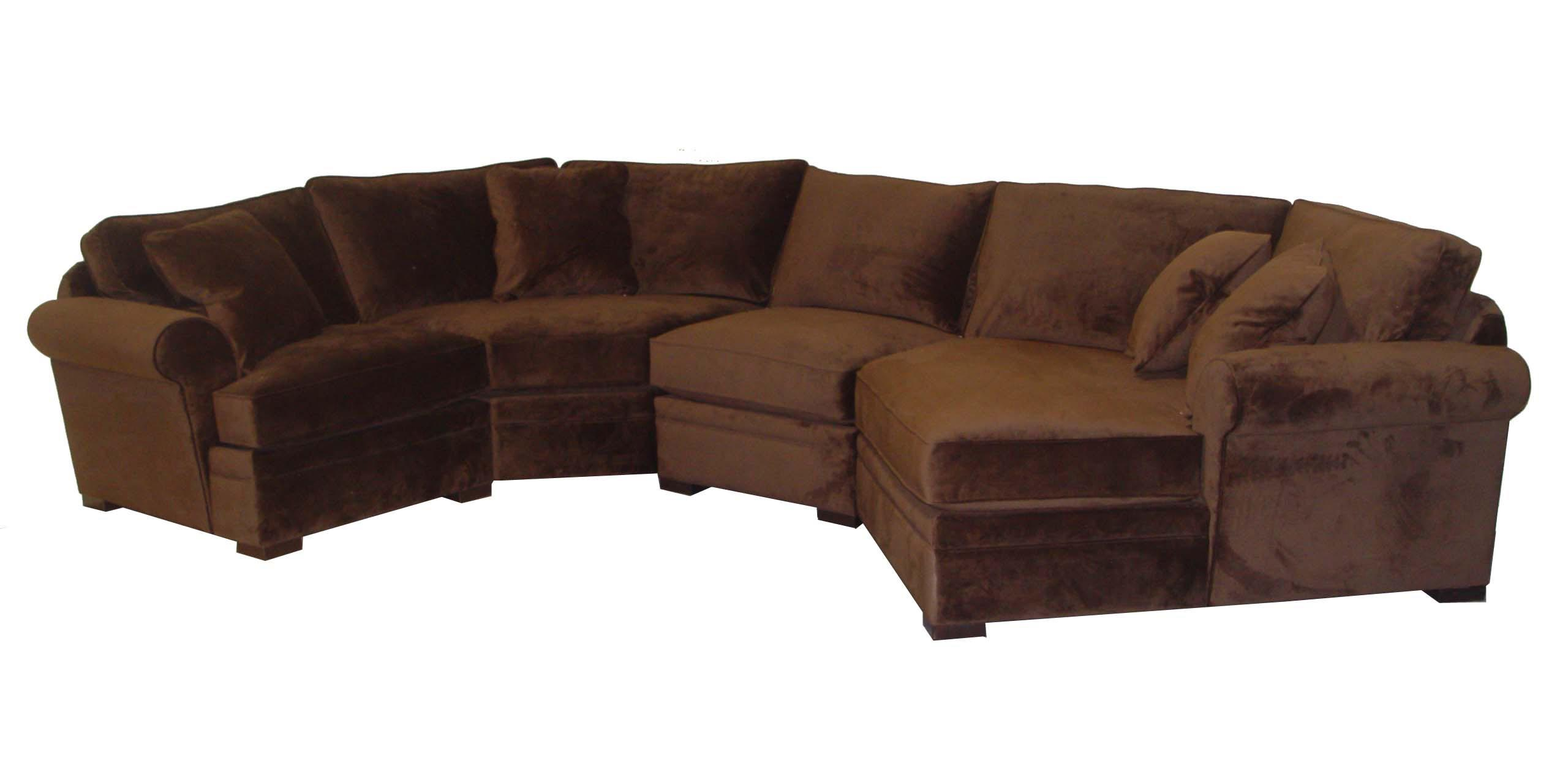 Jonathan Louis Hermes Four Piece Sectional Sofa With Raf