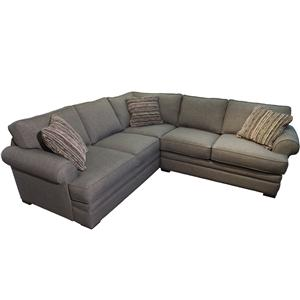 Jonathan Louis Hermes Casual Sectional  sc 1 st  Darvin Furniture : bassett beckham sectional - Sectionals, Sofas & Couches